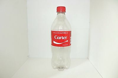 Share a Coke with Carter 20 fl oz Collectible Bottle Rare Empty Bottle Coca-Cola