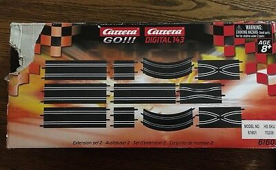 Carrera GO!!! - Extension Set 2 - 61601 - Race Track Brand New in the Box!