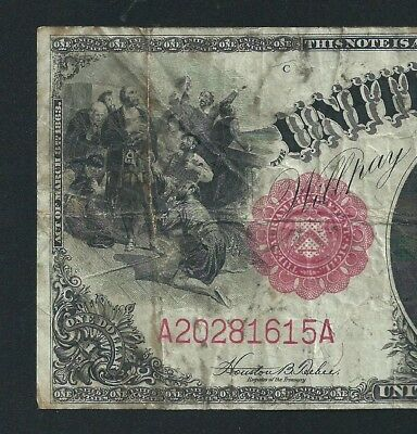 1917 $1 LEGAL TENDER <<< SAWHORSE >>> CHEAP and  AFFORDABLE