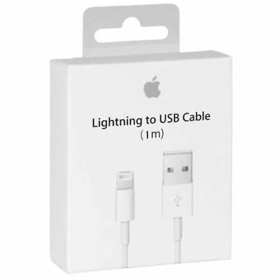 3 Pack Genuine  Lightning To Usb For Apple Iphone Original  Retail Box 1M - 3Ft