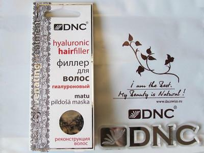 DNC Hair filler Comprehensive solution for damaged hair recovery filling 3x15ml