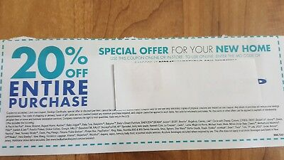 Bed Bath & Beyond Coupon 20% off entire purchase