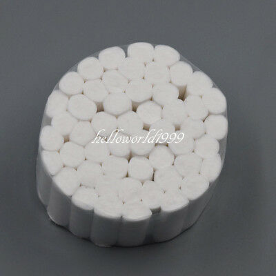 50 Pcs Dental Disposable High Absorbent Cotton Fibers Soft Rolls Pliable 10*38mm