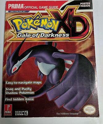 Pokemon XD Gale Of Darkness - Prima Official Guide - AUS Stock