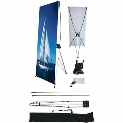 """Display Stands 24"""" 63"""" Banner For Trade Show/Store 1PCS"""