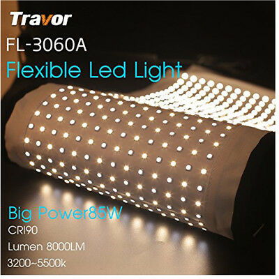 Travor 30*60cm Bi-Color Flexible 448pcs LED Light for Photography Shooting