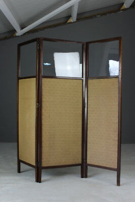 Antique Edwardian Privacy Dressing Screen Room Divider