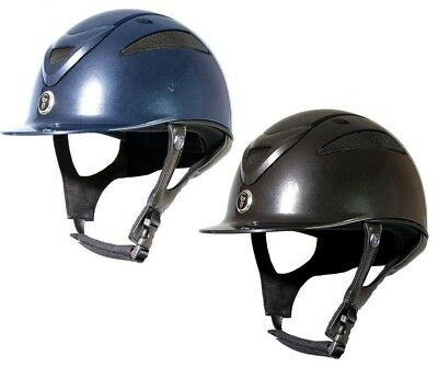 Gatehouse Conquest Mkii Horse Riding Hat/Helmet Metallic PAS015 ALL SIZES & COLO