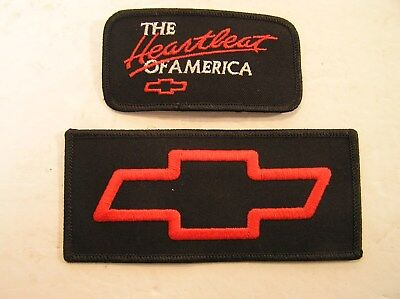 2 Chevy patches Heartbeat of America