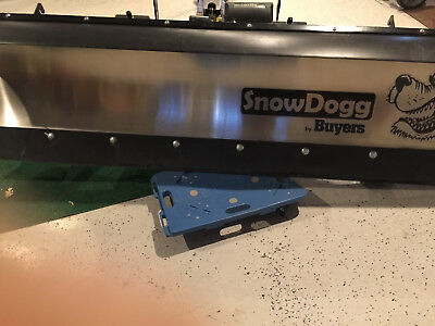 Snow Dogg MD75 stainless steel snow plow for toyota tundra