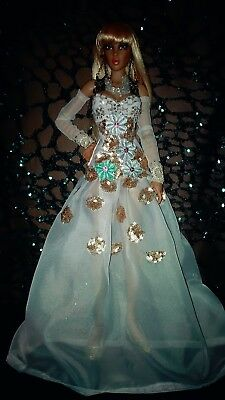 White Glam - Gown For Curvy Tonner Fid Iplehouse Racoon Msd Bjd Doll