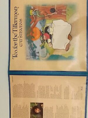"Cat Stevens "" Tea for the Tillerman"" LP Island"