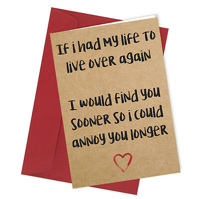 #26 BE MINE Valentines Day Card Adult Funny Rude Joke Cheeky