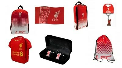 Liverpool Football Club Merchandise Backpack Keyring Wallet Gymbag Bootbag Cap