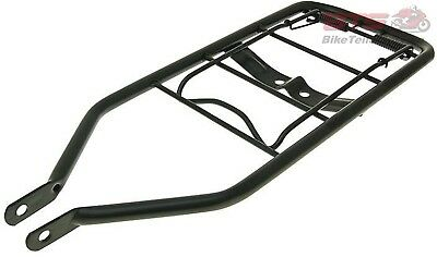 Gepäckträger schwarz+Klemme Puch Maxi rear luggage rack black with spring clamp