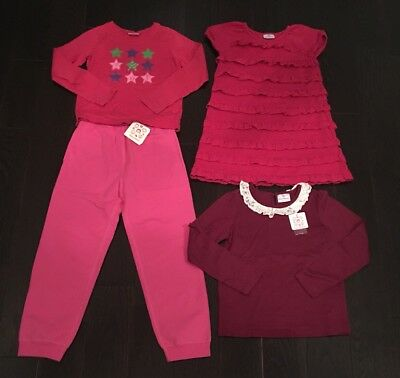 Hanna Andersson Lot Of 4 Size 130 140 (7-10, 9-11)