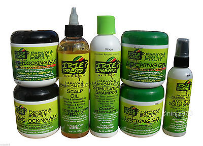 Irie Dread Lock & Twist Papaya & Passion Fruit Hair Care Products