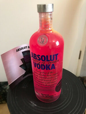 Absolut Vodka Graffiti 1000ml new full and sealed Original