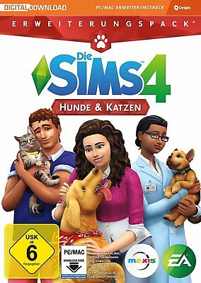 Die Sims 4: Hunde & Katzen Key - The SIMS 4 Cats and Dogs Add-On PC Origin Code