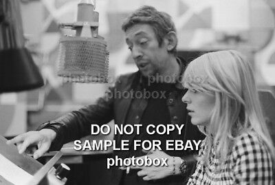France Gall - Exclusive Unpublished PHOTO  Ref 715 Serge Gainsbourg