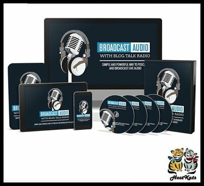 Broadcast Audio with Blog Talk Radio - Digital Download