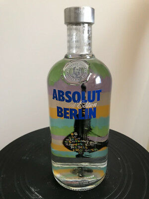 Absolut Vodka Berlin Limited Edition 40% ALC/VOL. 700ML Neu Voll
