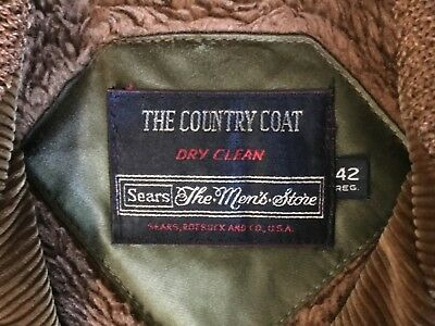 """Great Vintage Vibe """"Country Coat"""" Mens size 42 Regular USA"""