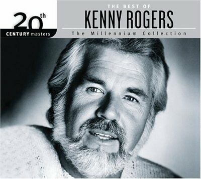 KENNY ROGERS - Millennium Collection-20th Century Masters - CD - Original NEW