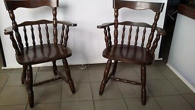 2 x alte Kaptain Chairs