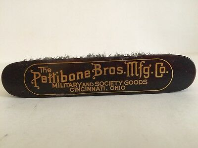 Antique Advertising Garment Clothing Brush Pettibone Bros. Mfg. Co.