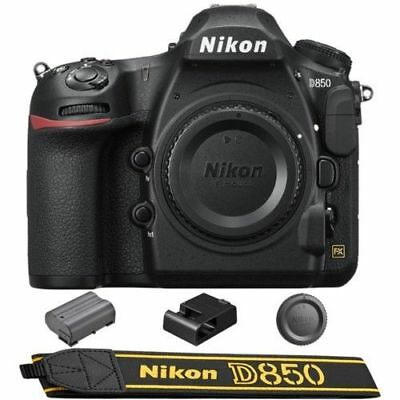 Nikon D D850 45.7MP Digital SLR Camera - Black (Body Only)