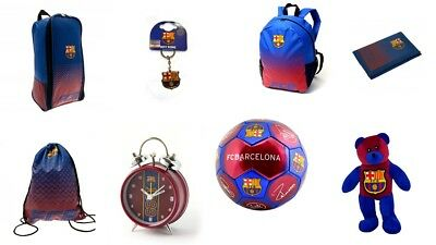 FC Barcelona Merchandise Backpack Keyring 100% Genuine Merchandise Wallet Gymbag