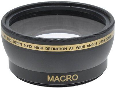 XIT 52mm  0.43x High Definition AF Wide Angle Lens