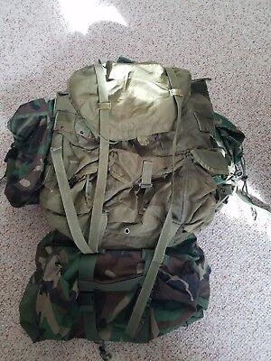 ALICE Rucksack with additional pouches (MALICE Mod)