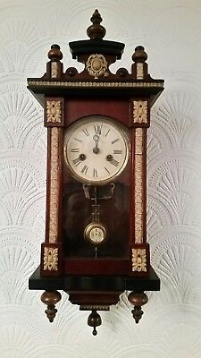 Small Vienna wall clock ( musical )