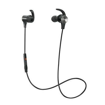 Bluetooth Headphones, TaoTronics Wireless 4.2 Magnetic Earbuds, Snug Fit for Spo