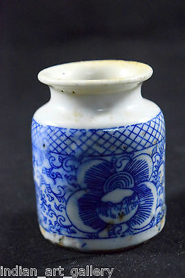 Antique Rare Decorative Old China Ceramic Collectible Small Pot/Vase.i59-10