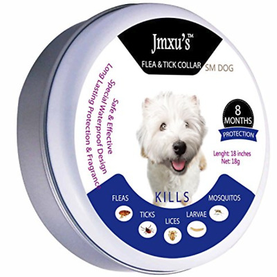 Flea & Tick Collar for Small Dog 8 Month Protection..1f