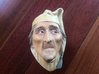 Vintage Scrooge Bosson Head Made in England chaulkware