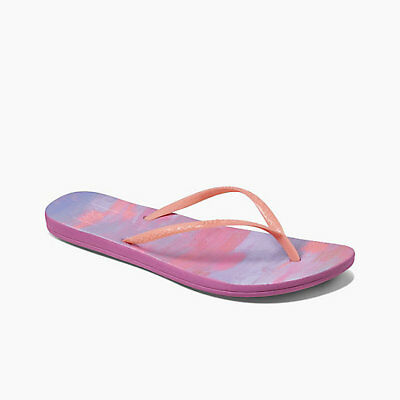 24d6511e1eb68 Reef Women s Escape Lux Paint Cushion Flip Flops Sandals Sizes 6 7 8 9 10 11