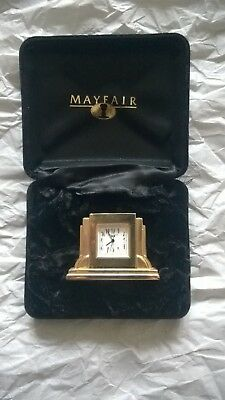 Gold Mayfair Carriage Clock