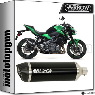 Arrow Silencer Race-Tech Black Carby Kawasaki Z 900 2017 17