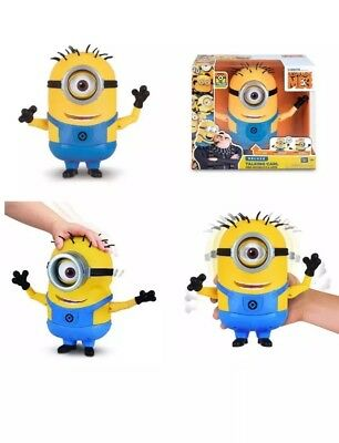 New Despicable Me Talking Minion Carl Toy Figure, Free Gift For Christmas USA