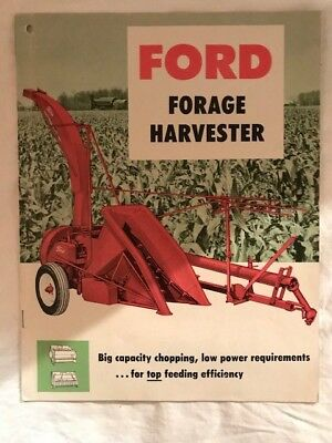 Ford Forage Harvester Dealer Sales Brochure