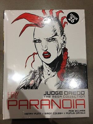 Judge Dredd The Mega Collection, Low Life Paranoia, Number 19, New And Sealed