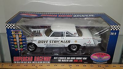 1/18 HIGHWAY 61 SUPERCAR COLLECTIBLES DAVE STRICKLER 1965 DODGE CORONET HEMI gd