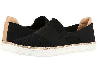 9a28509f35a WOMEN'S SHOES UGG Sammy Slip On Hyper Weave Casual Sneakers 1016756 Black  *New*
