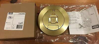 Floor Outlet Cover S1R4CVRBRS Brass Hubbell Lot of 4