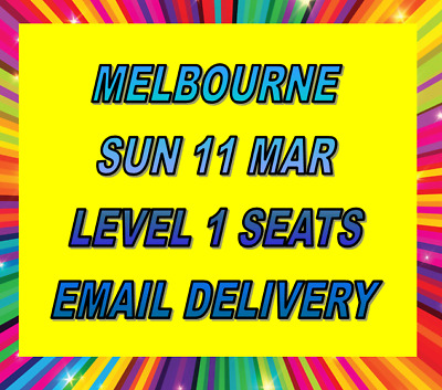 Ed Sheeran Melbourne Tickets - Sunday 11 March - Level 1 Grandstand Seats