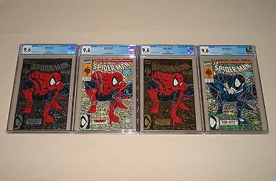 Spider-man/Torment #1 Green / Silver / Gold  /#13-CGC 9.6! FREE Shipping!